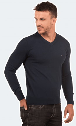 Suéter Masculino Gola V Cash